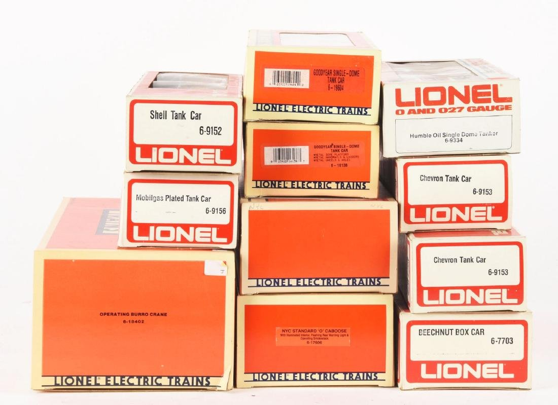 Lot of 12: Lionel Post-1970 Engines & Rolling Stock - 2