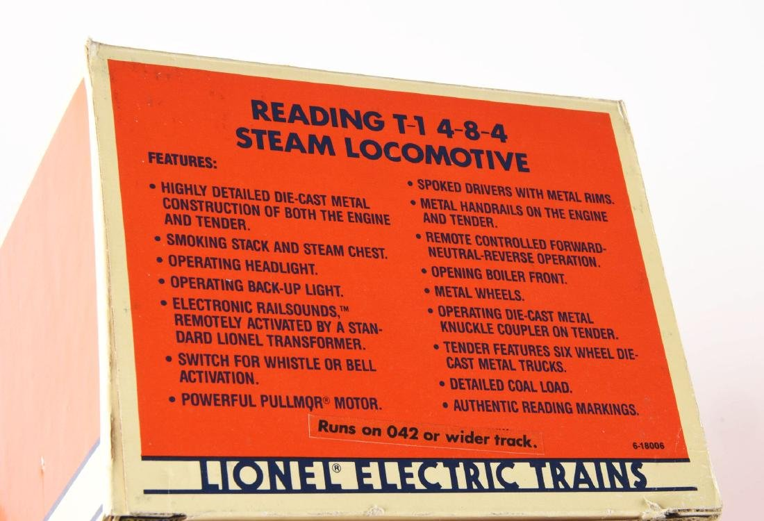 Lot of 11: Lionel Reading T-1 Locomotive with Freight - 3