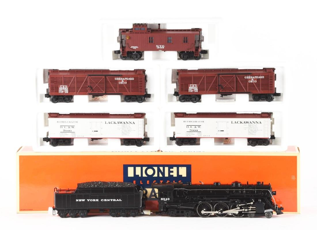 Lot Of 6: Lionel New York Central Hudson Steam