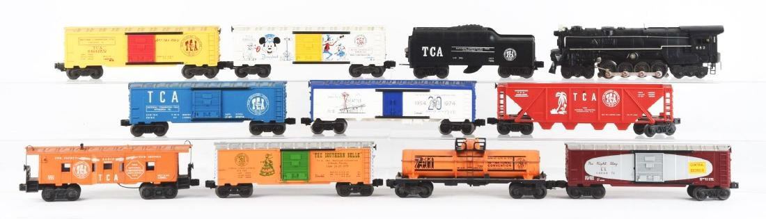 Lot Of 12: TCA Lionel No. 682 Engine with Freight Cars. - 2