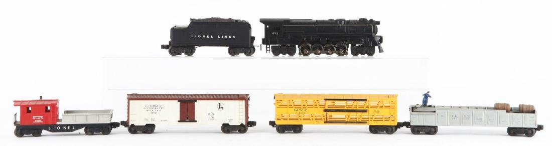 Lot Of 6: Lionel No. 671 Engine with Freight Cars.