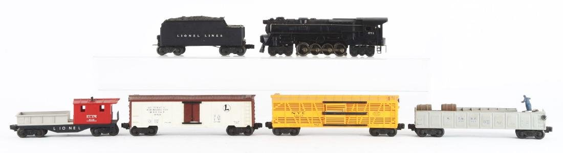 Lot Of 6: Lionel No. 671 Engine with Freight Cars. - 2