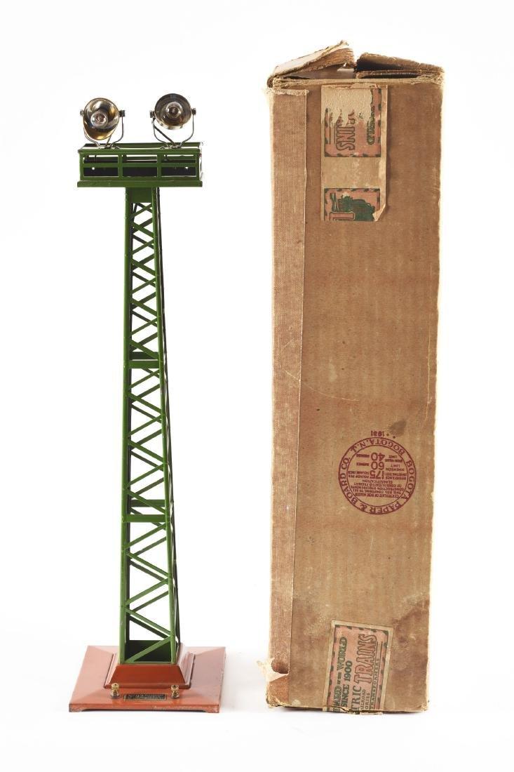 Lionel Standard Gauge No. 92 Floodlight Tower.