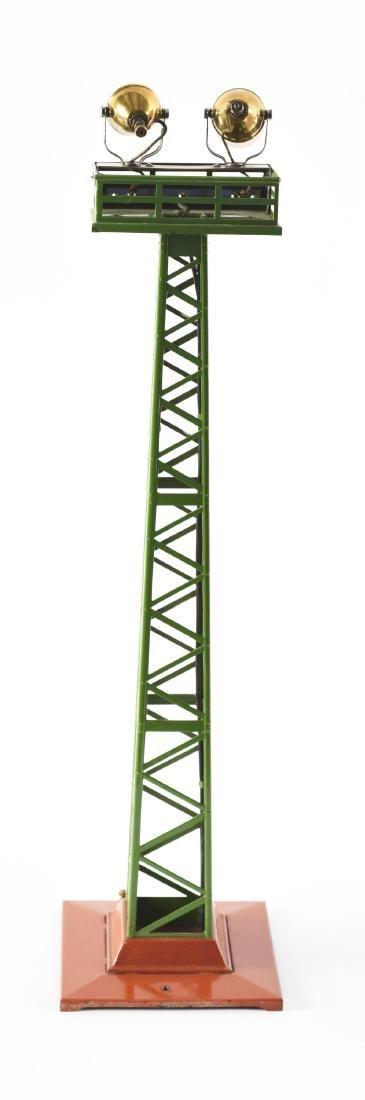 Lionel Standard Gauge No. 92 Floodlight Tower. - 2