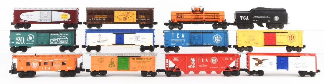 Lot Of 12: Lionel TCA Convention Cars and a ZW - 2