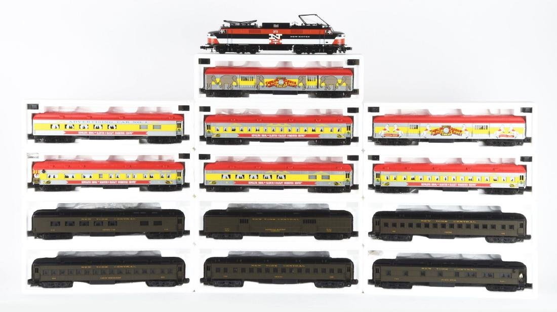Lot Of 10: K-Line Heavy Weight Passenger Cars Including