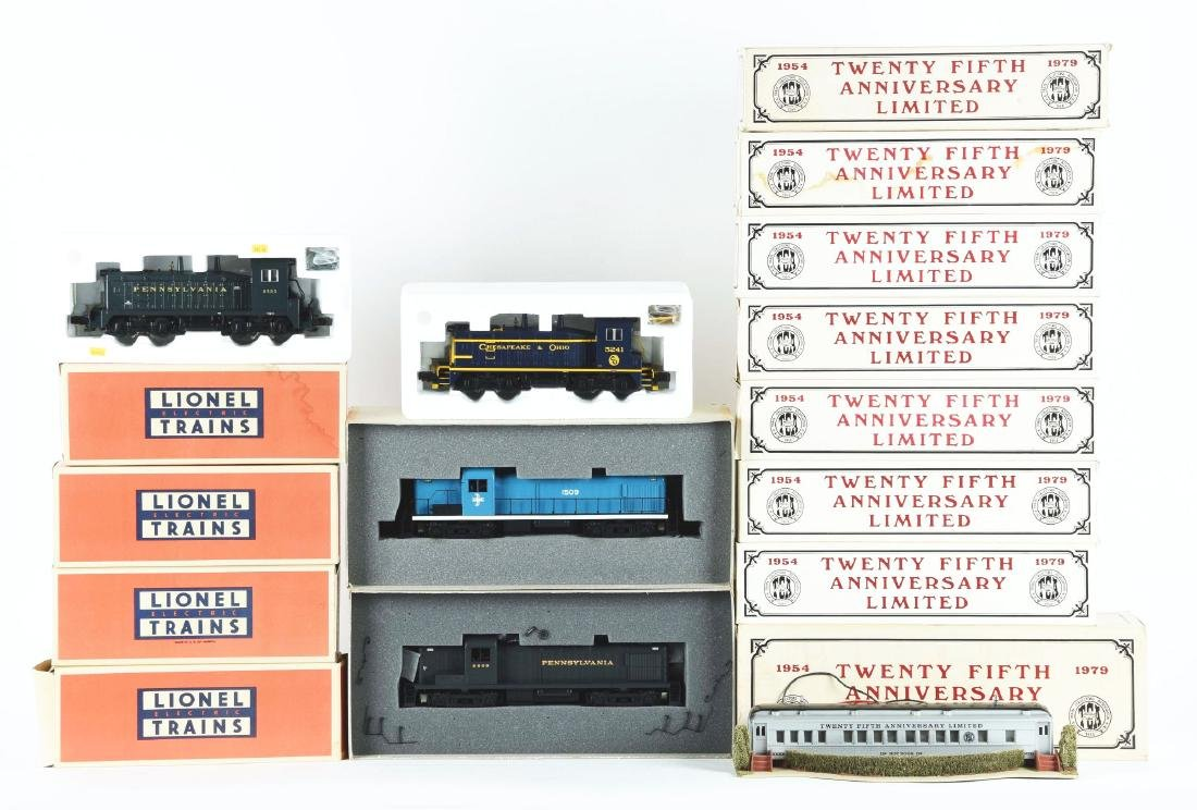 Lot Of 16: Weaver, Atlas, & Williams TCA Trains In