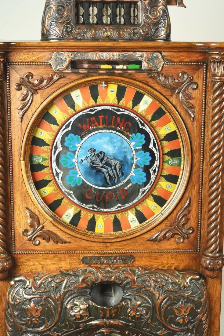 **5¢ Watling Mfg. Co. Cupid Upright Slot Machine. - 2