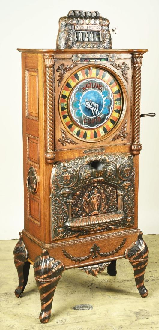 **5¢ Watling Mfg. Co. Cupid Upright Slot Machine. - 7