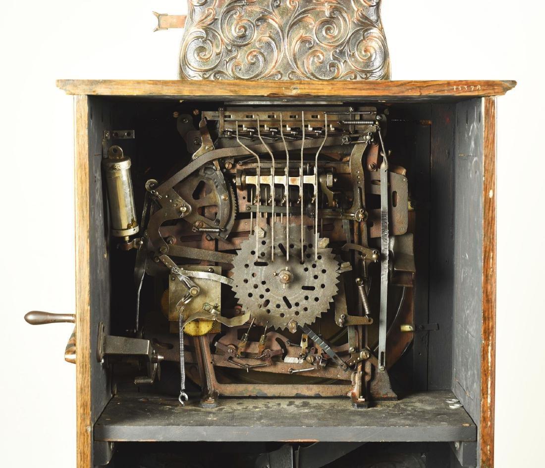 **5¢ Watling Mfg. Co. Cupid Upright Slot Machine. - 9