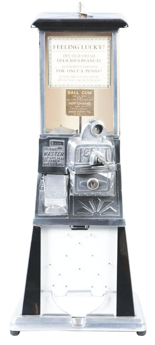 1¢ The Master Beige Gumball Vending Machine.