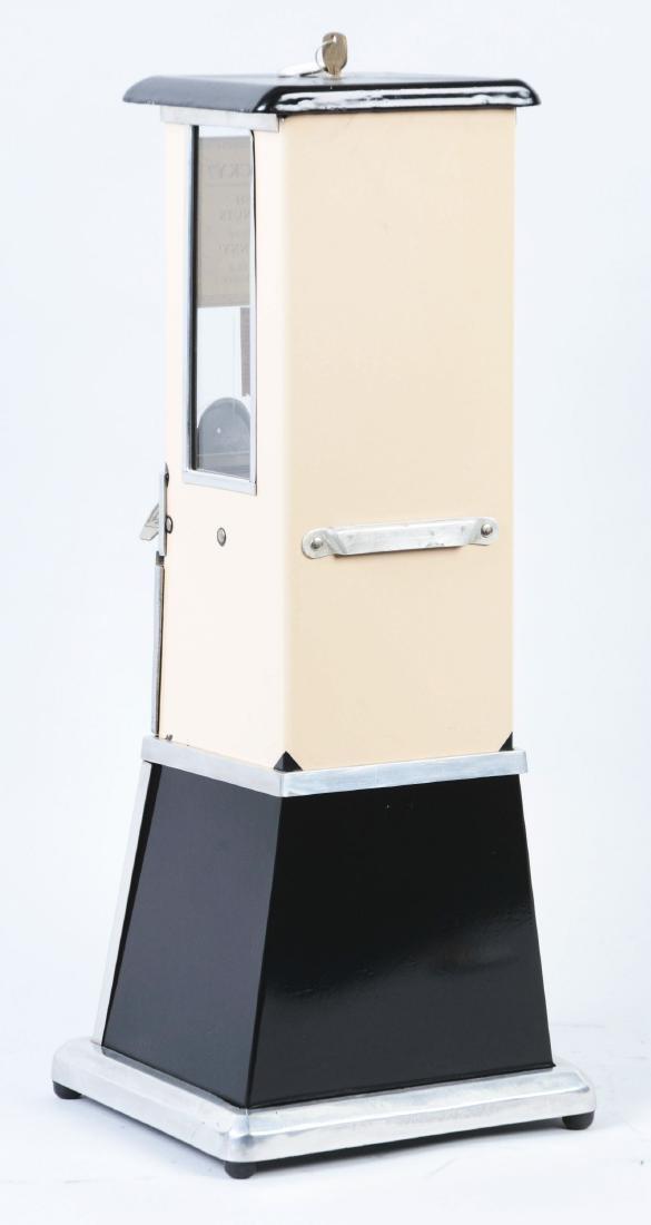1¢ The Master Beige Gumball Vending Machine. - 3