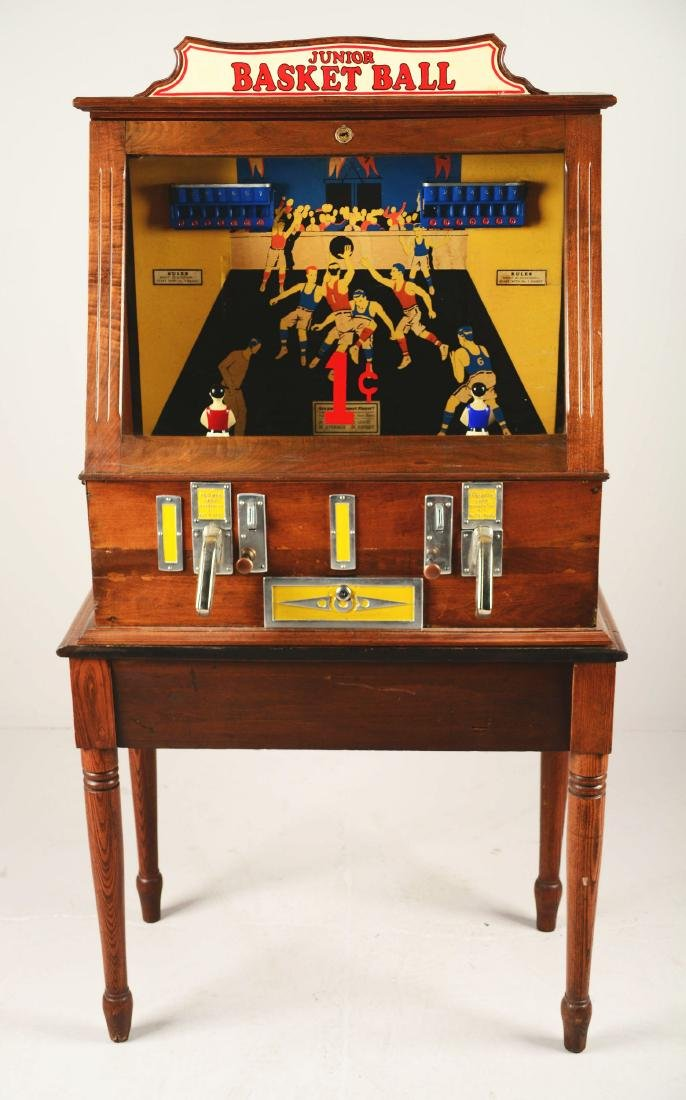 1¢ C.D. Fairchild's Junior Basketball Arcade Machine - 2