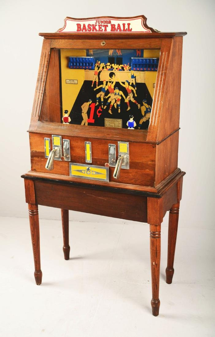 1¢ C.D. Fairchild's Junior Basketball Arcade Machine - 3
