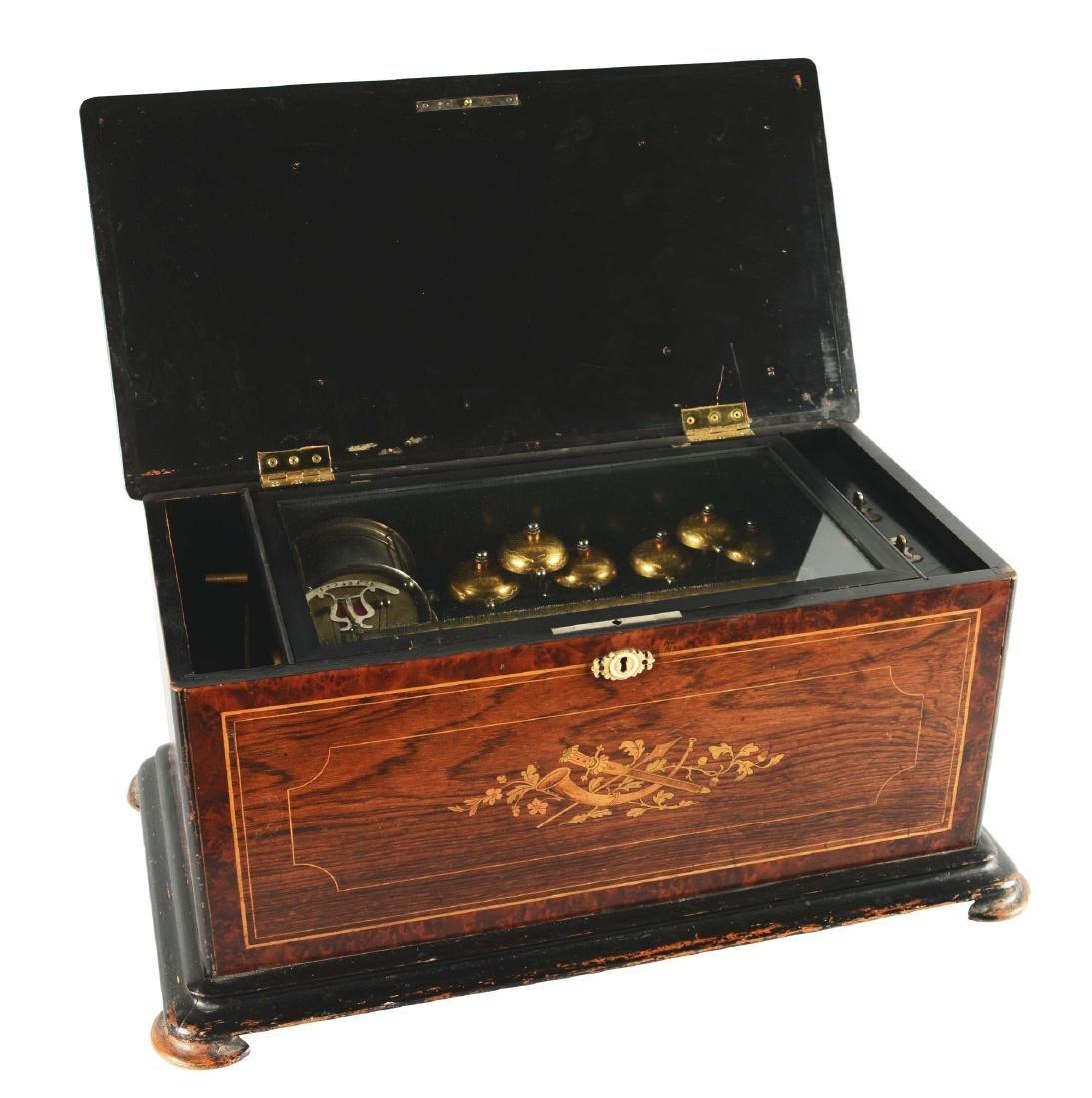 Swiss Cylinder Music Box.