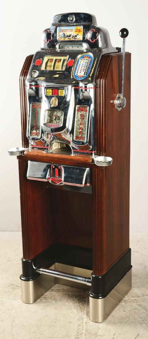 **25¢ O.D. Jennings Prospector Console Slot Machine. - 2