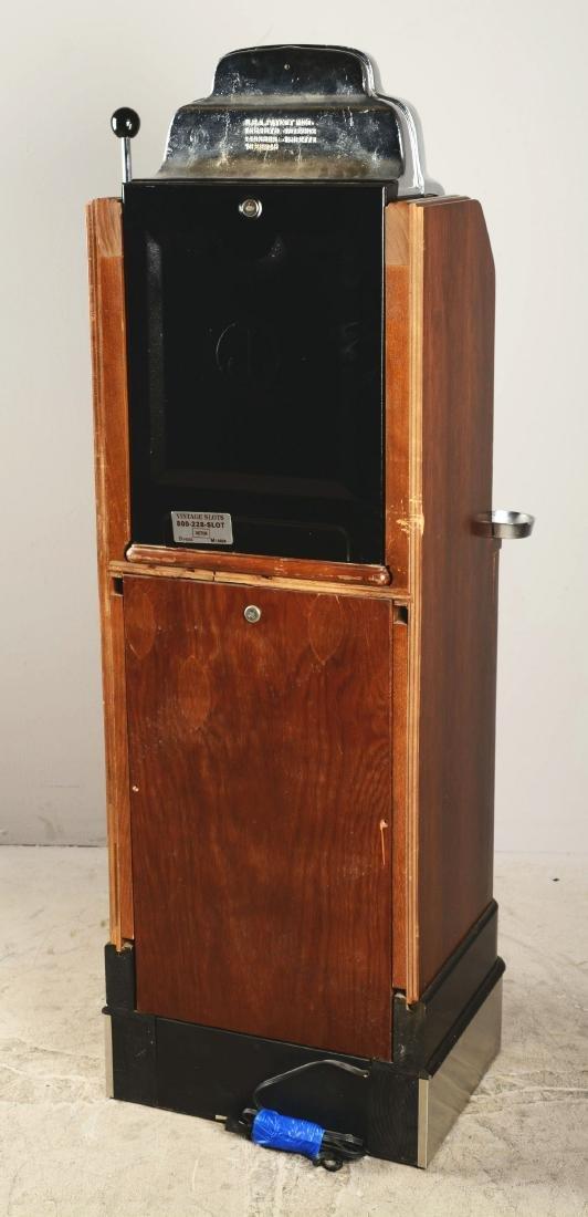 **25¢ O.D. Jennings Prospector Console Slot Machine. - 3
