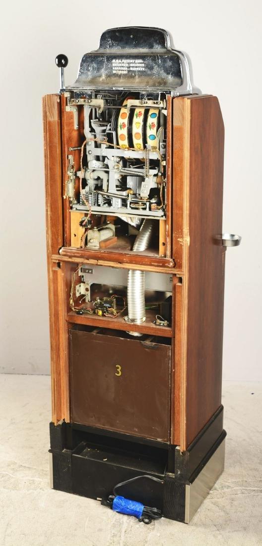 **25¢ O.D. Jennings Prospector Console Slot Machine. - 4
