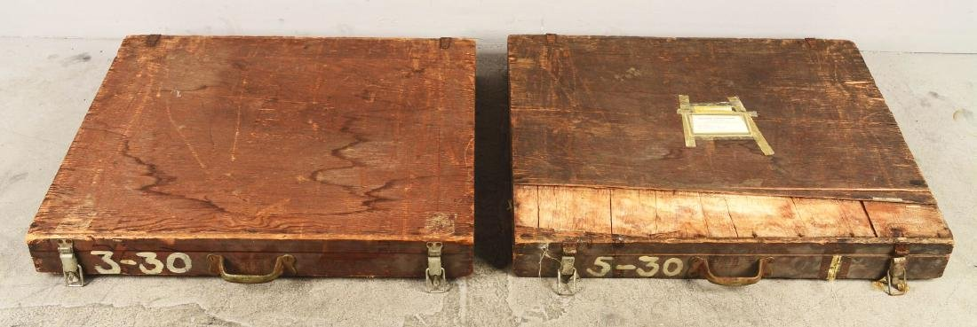 Lot Of 2: Gambling Wheels In Crates. - 2