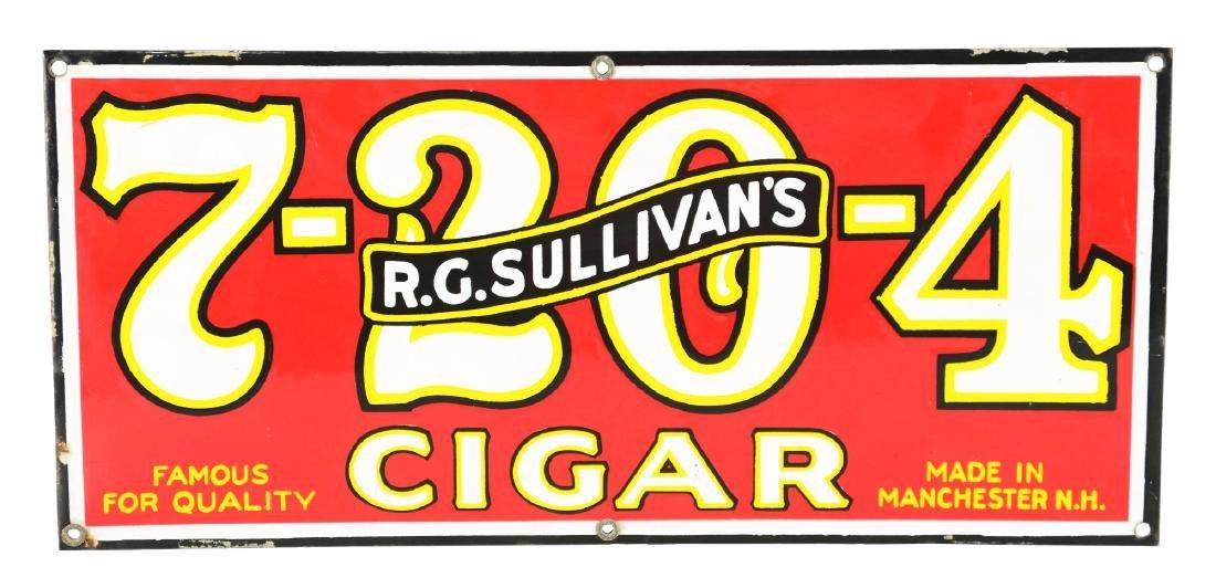 Porcelain R.G. Sullivans's Sign.