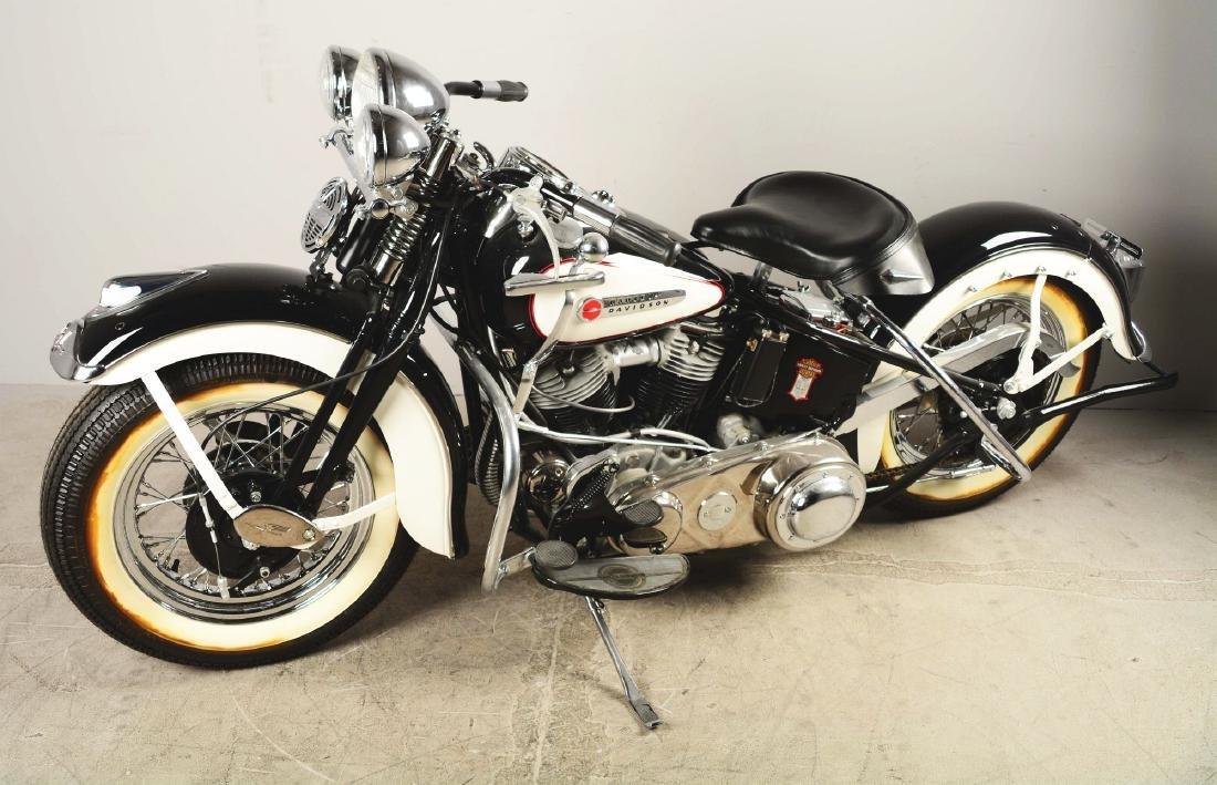 1948 FL Panhead Harley Davidson Motorcycle. - 2