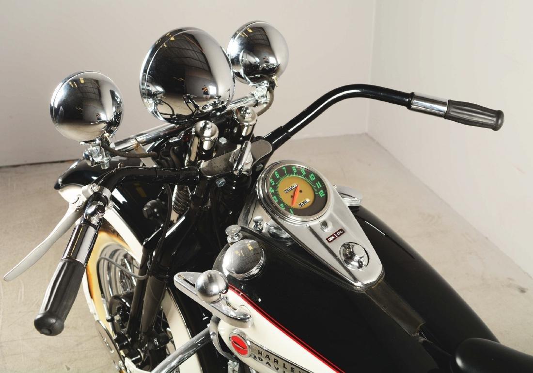 1948 FL Panhead Harley Davidson Motorcycle. - 3