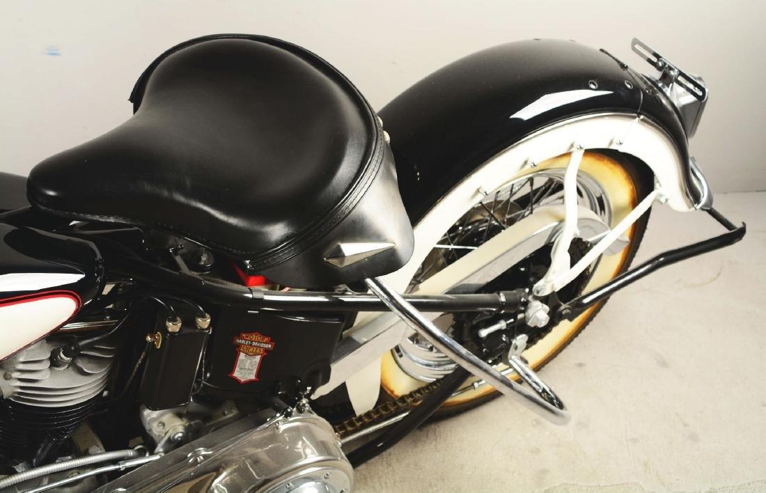 1948 FL Panhead Harley Davidson Motorcycle. - 4