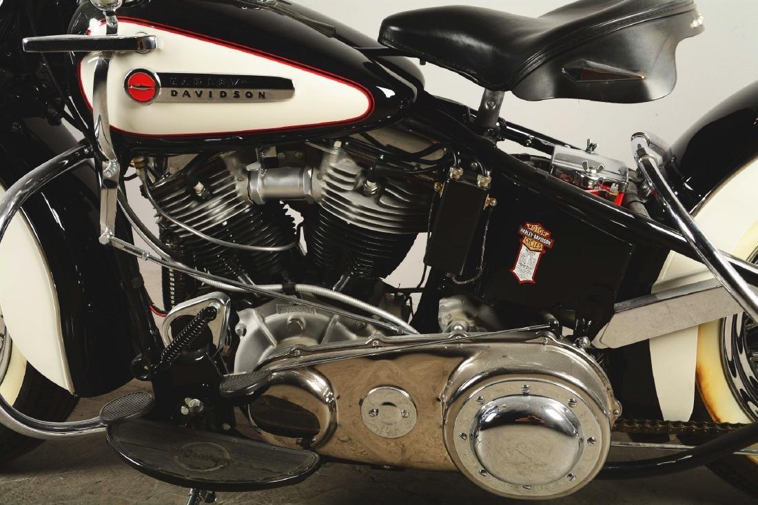 1948 FL Panhead Harley Davidson Motorcycle. - 5