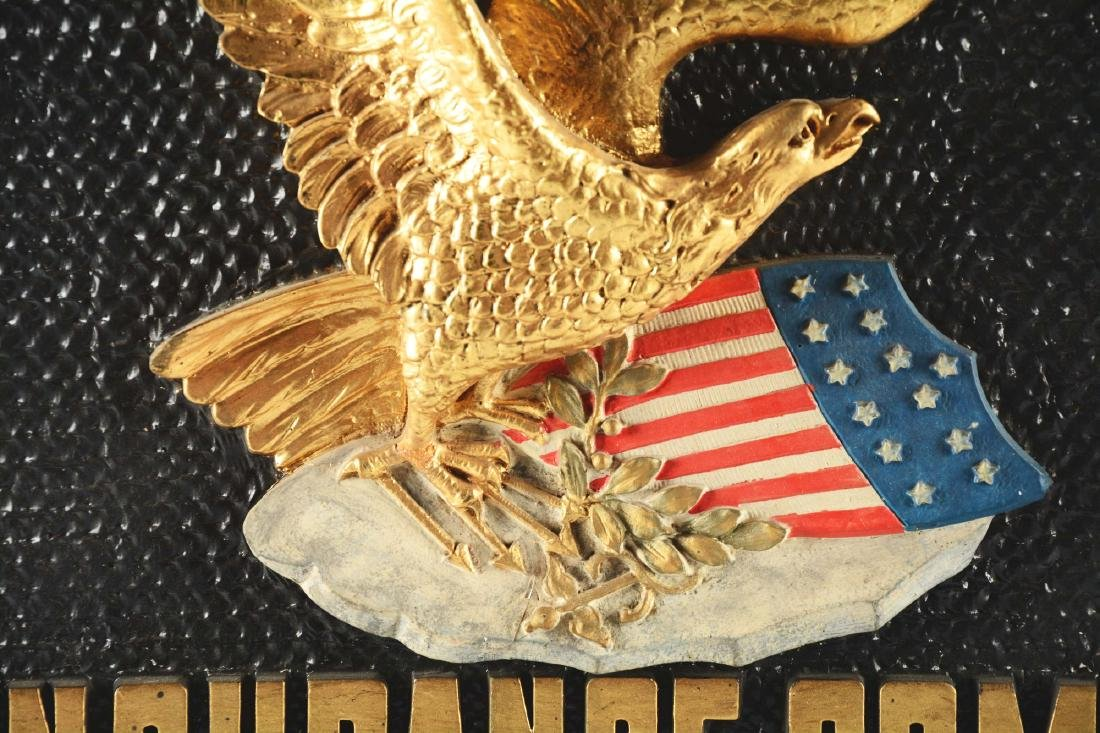 First National Fire Insurance Company Advertising Sign. - 2