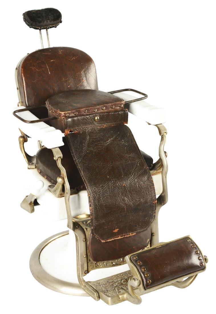 Salesman Sample Koken Barber Chair.