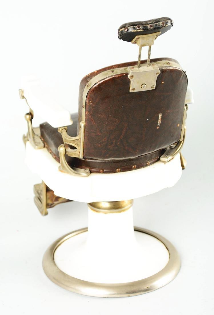 Salesman Sample Koken Barber Chair. - 3