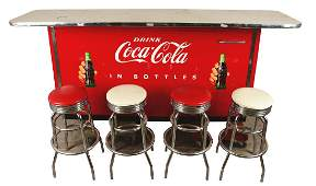 Lot Of 5: Victor C-31 Coca-Cola Cooler With 4 Bar
