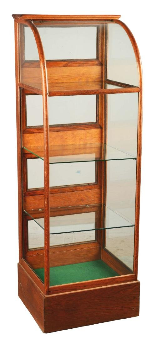 Glass Display Cabinet.