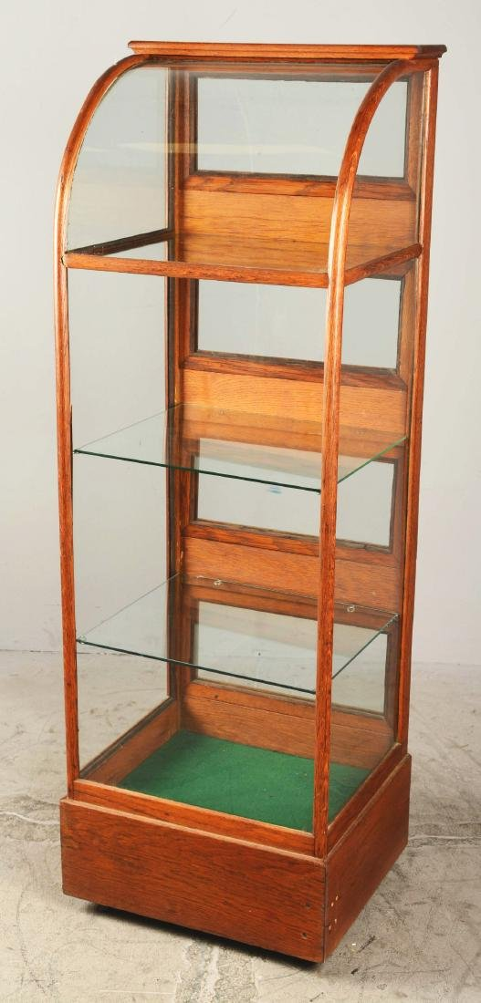 Glass Display Cabinet. - 2