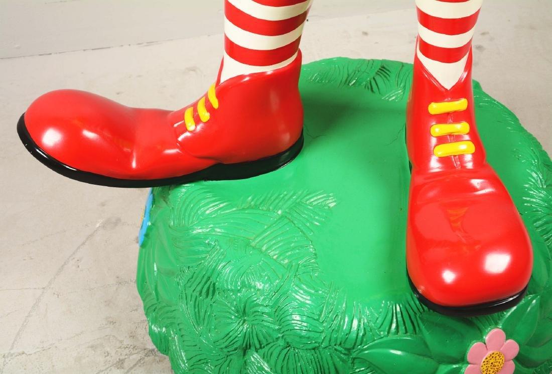 Life-Size Ronald McDonald Fiberglass Statue. - 4