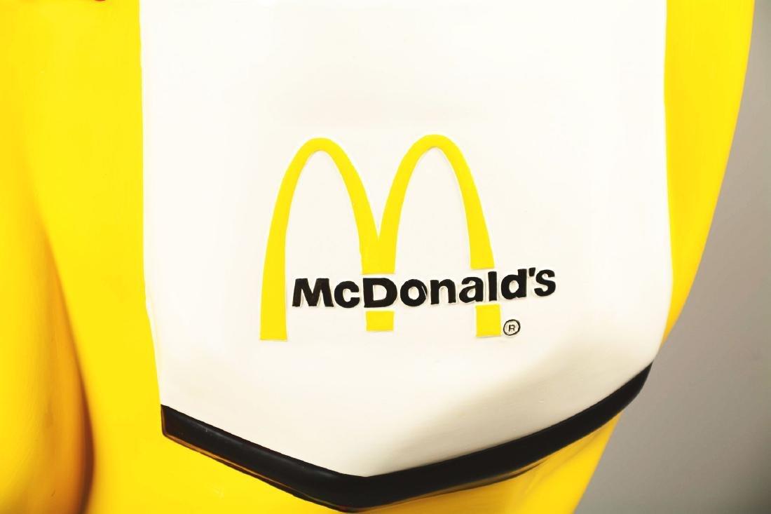 Life-Size Ronald McDonald Fiberglass Statue. - 5