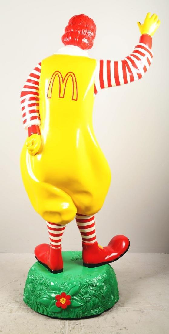 Life-Size Ronald McDonald Fiberglass Statue. - 6