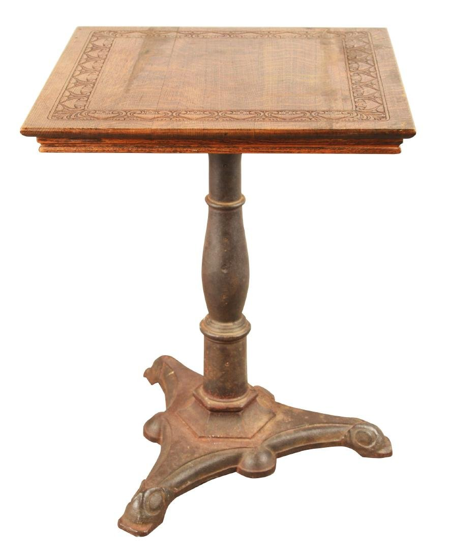 Antique Wooden Side Table.