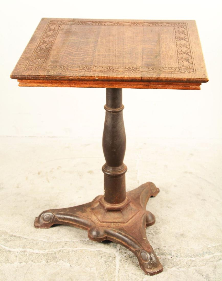 Antique Wooden Side Table. - 2