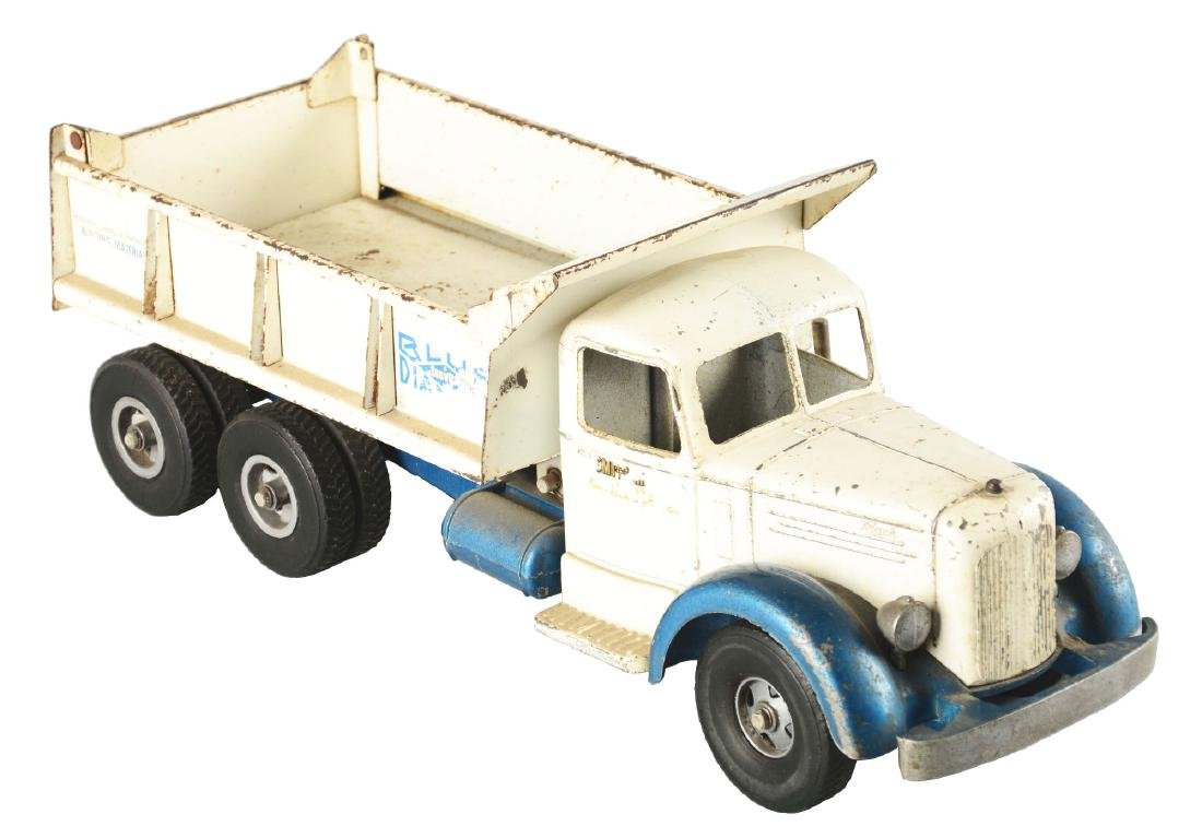 Pressed Steel Smitty Toys Mack Hydraulic Dump Truck.