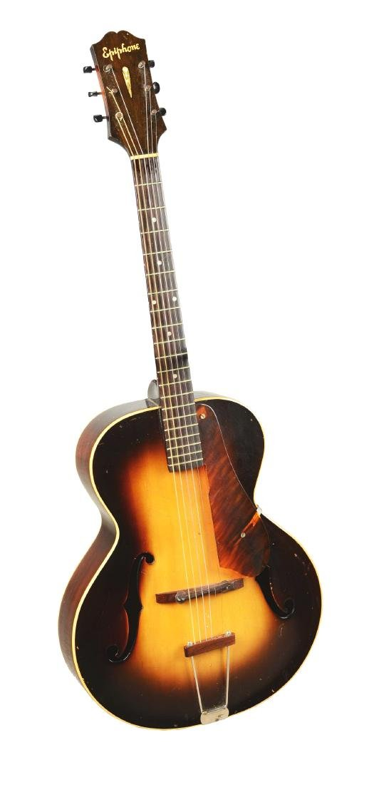 Epiphone Zenith Arch Top Acoustic Guitar.
