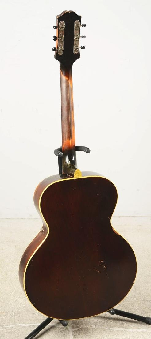 Epiphone Zenith Arch Top Acoustic Guitar. - 5