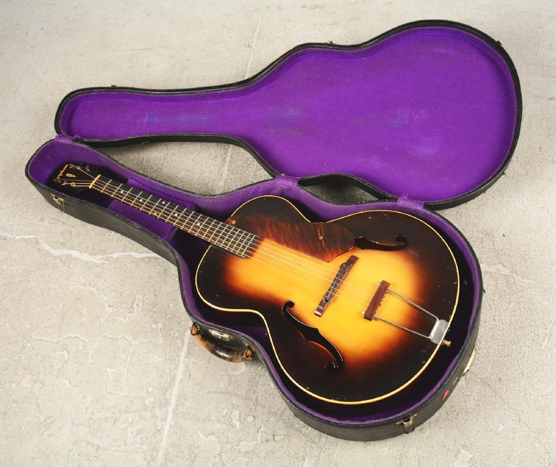 Epiphone Zenith Arch Top Acoustic Guitar. - 6