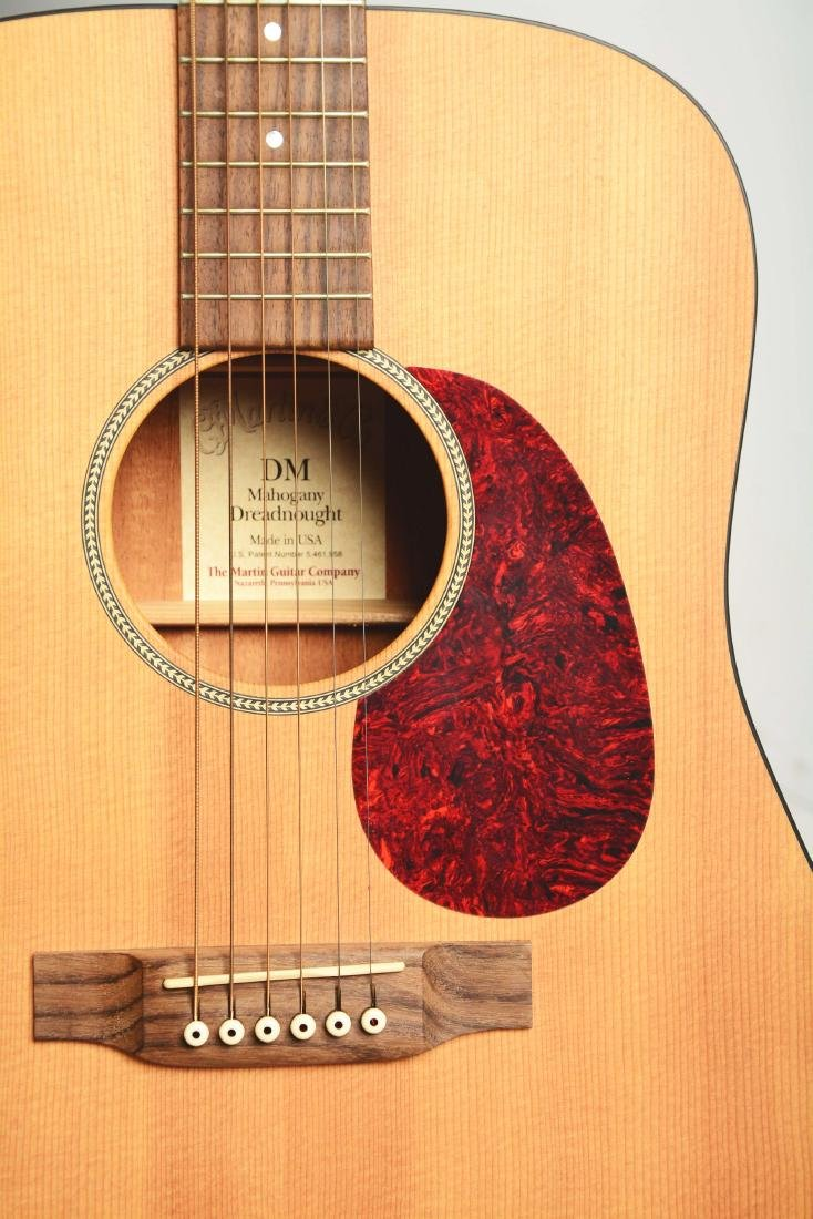 C.F. Martin & Co. DM Mahogany Dreadnought Acoustic - 4