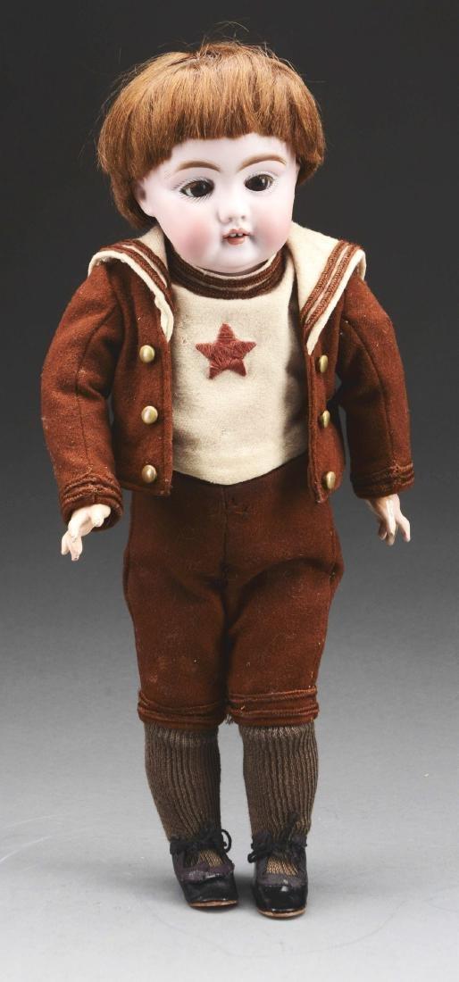 Bisque Head Boy Doll.