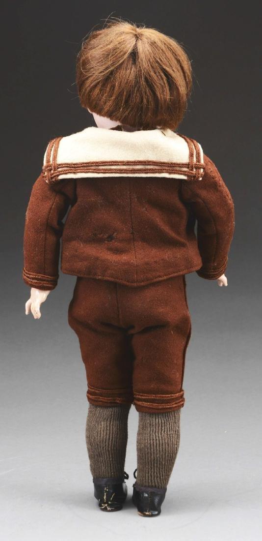 Bisque Head Boy Doll. - 2