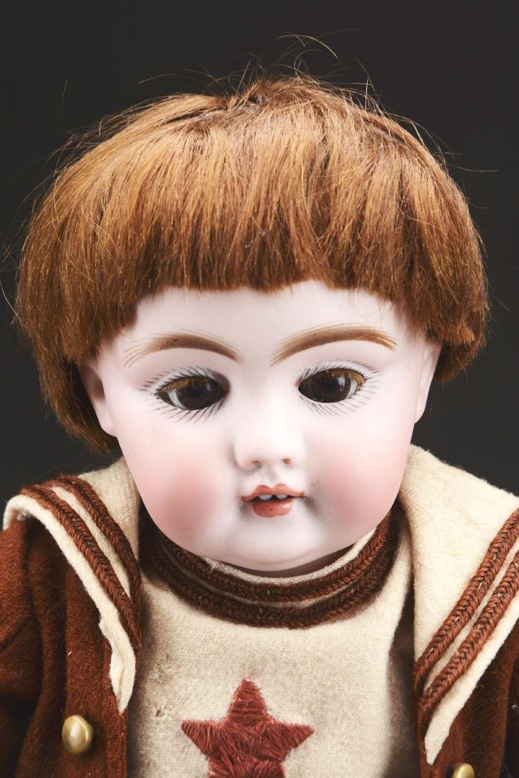 Bisque Head Boy Doll. - 3