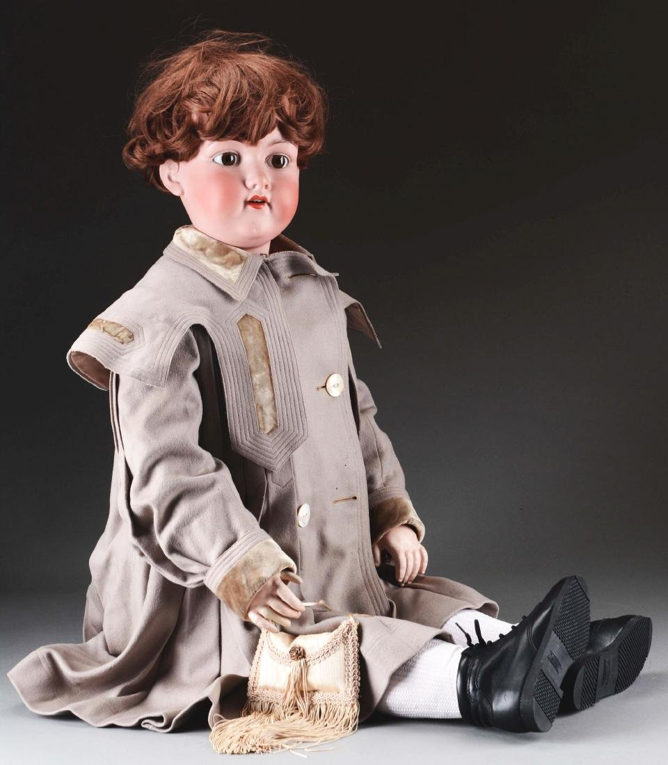 Large AM 390 Bisque Doll.