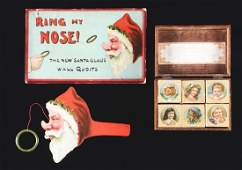 Sears Ring My Nose Christmas Game  Blocks