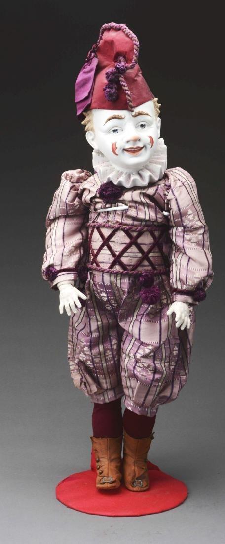 "25"" Clown Doll with Rare Molded Head."